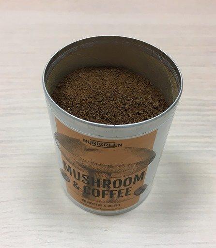 Nurigreen Mushroom Coffee mit Instant-Kaffee