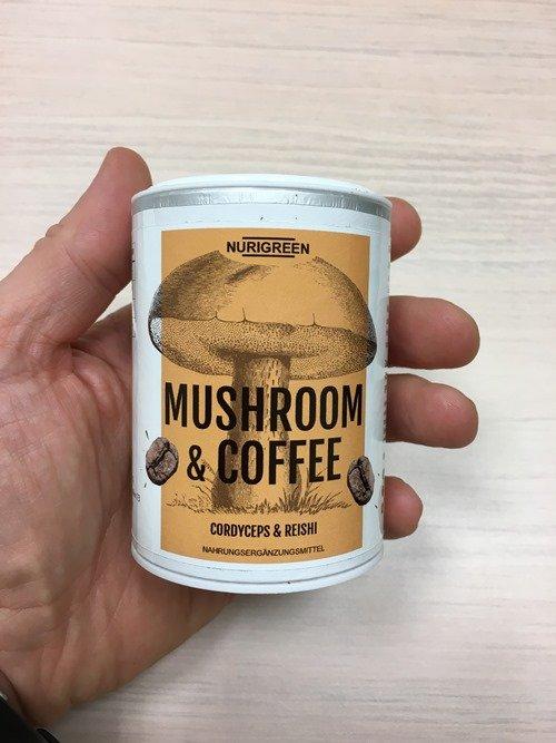 Nurigreen Mushroom & Coffee (Pilz Kaffee)