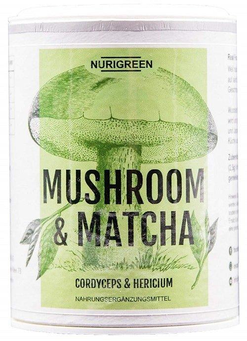 nurigreen mushroom matcha tee